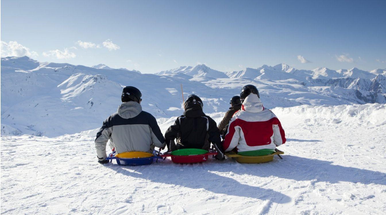 ski toboggan