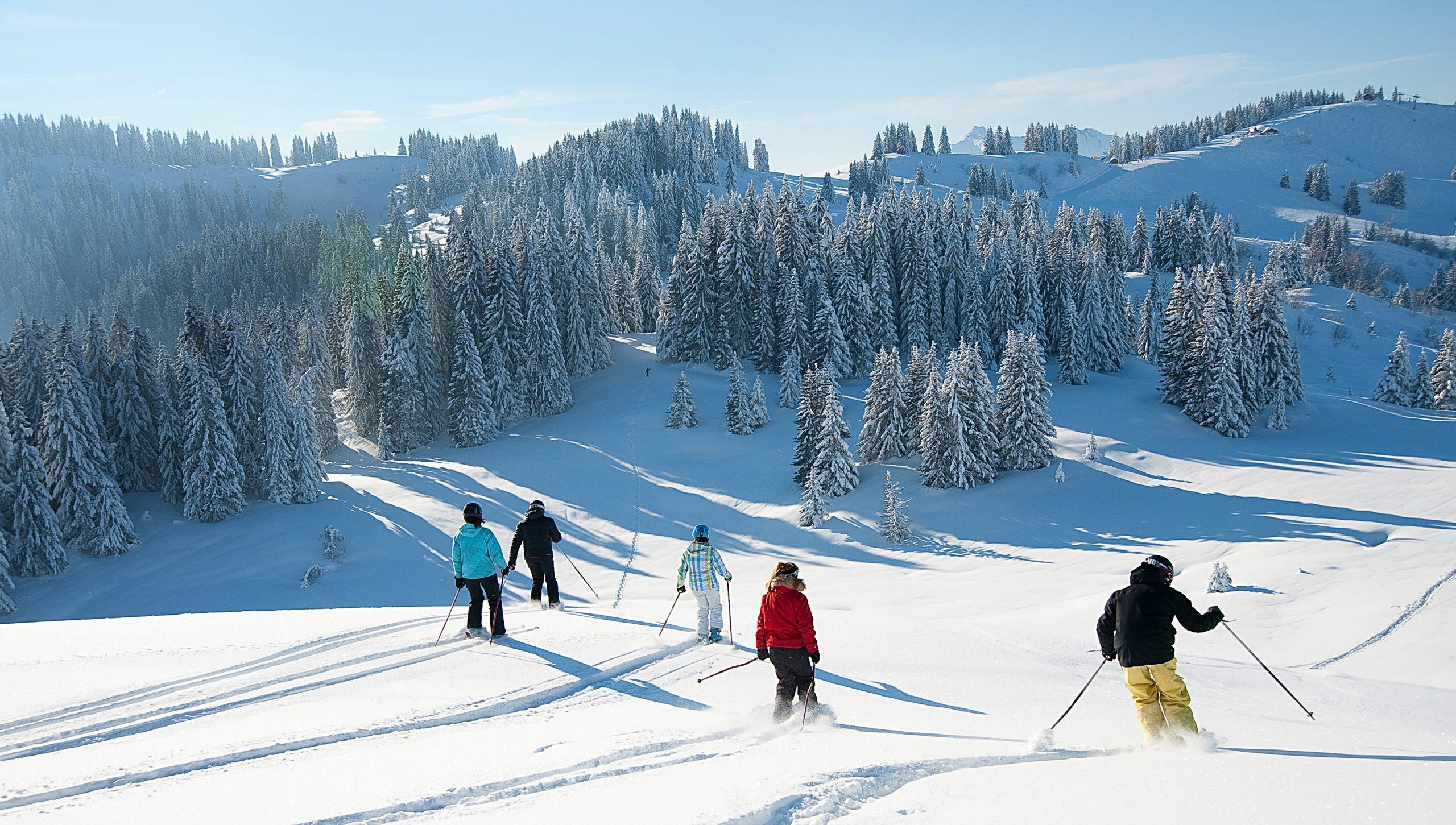Les Gets slopes