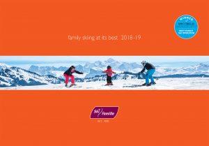 ski brochure cover