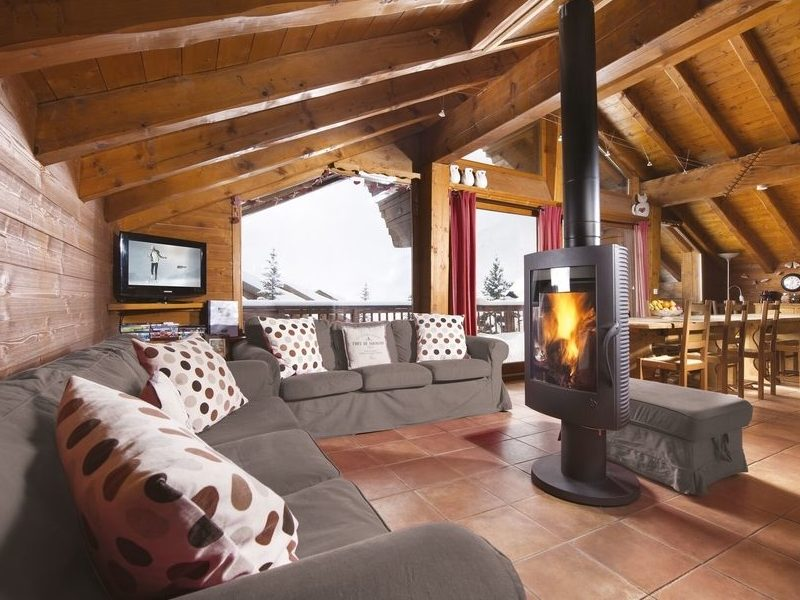Chalet Eva charming interior