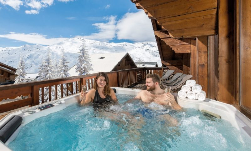 Baclony hot tub - Chalet Eva