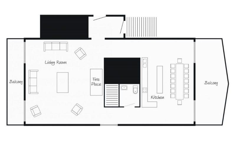 chalet first floor