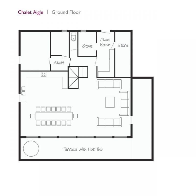 Aigle Ground Floor