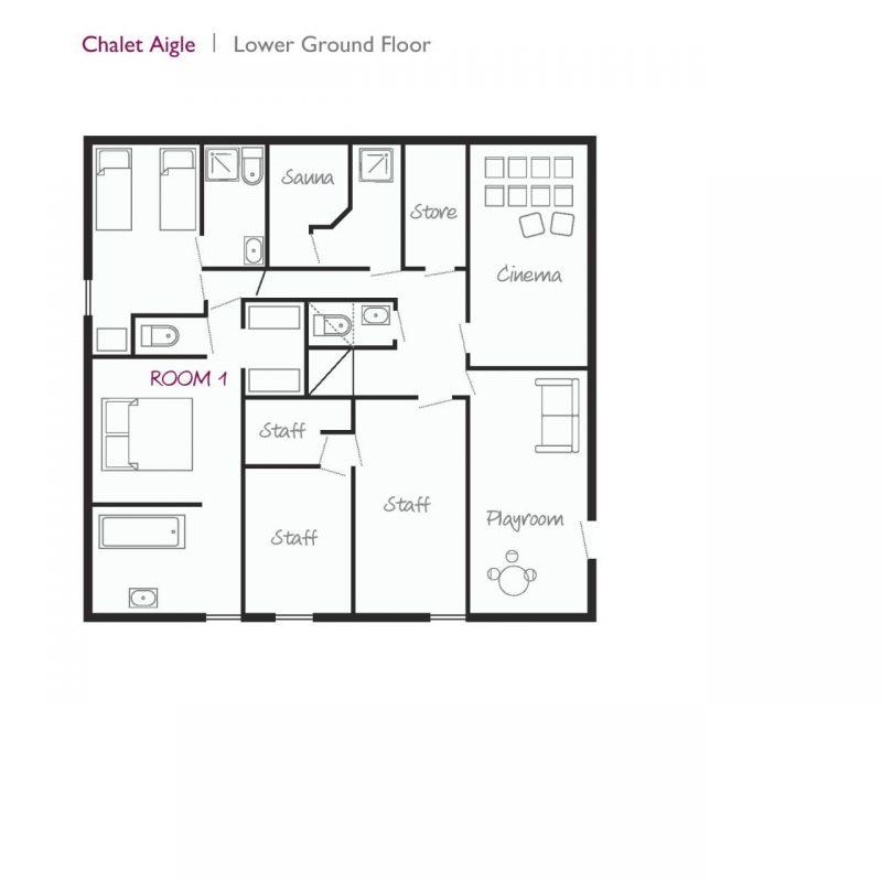 Aigle Lower Ground Floor