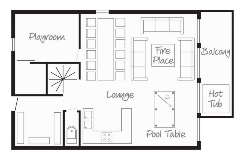 Chalet Aigrette Ground Floor