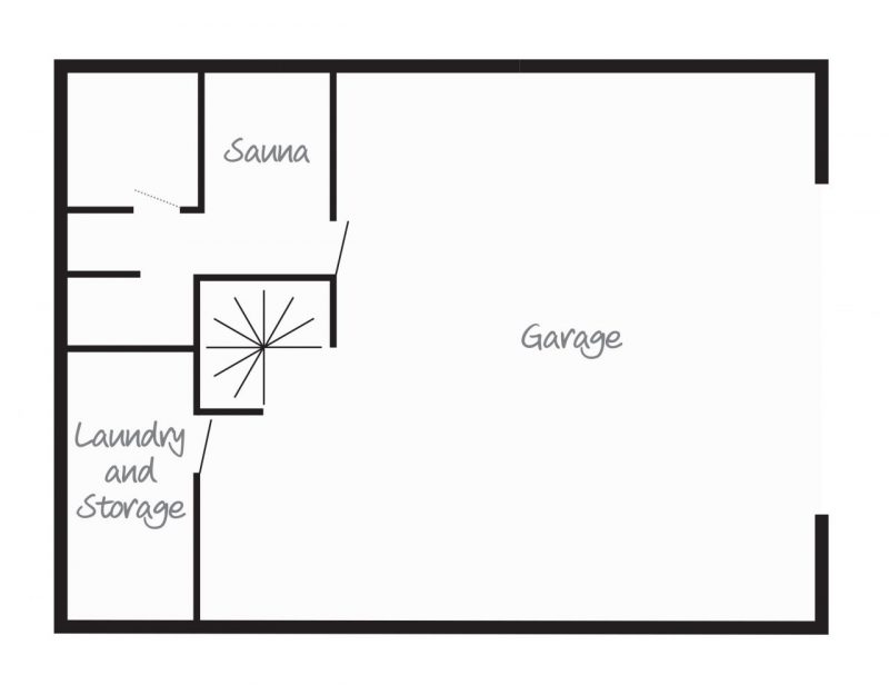 Chalet Aigrette Lowest Ground Floor