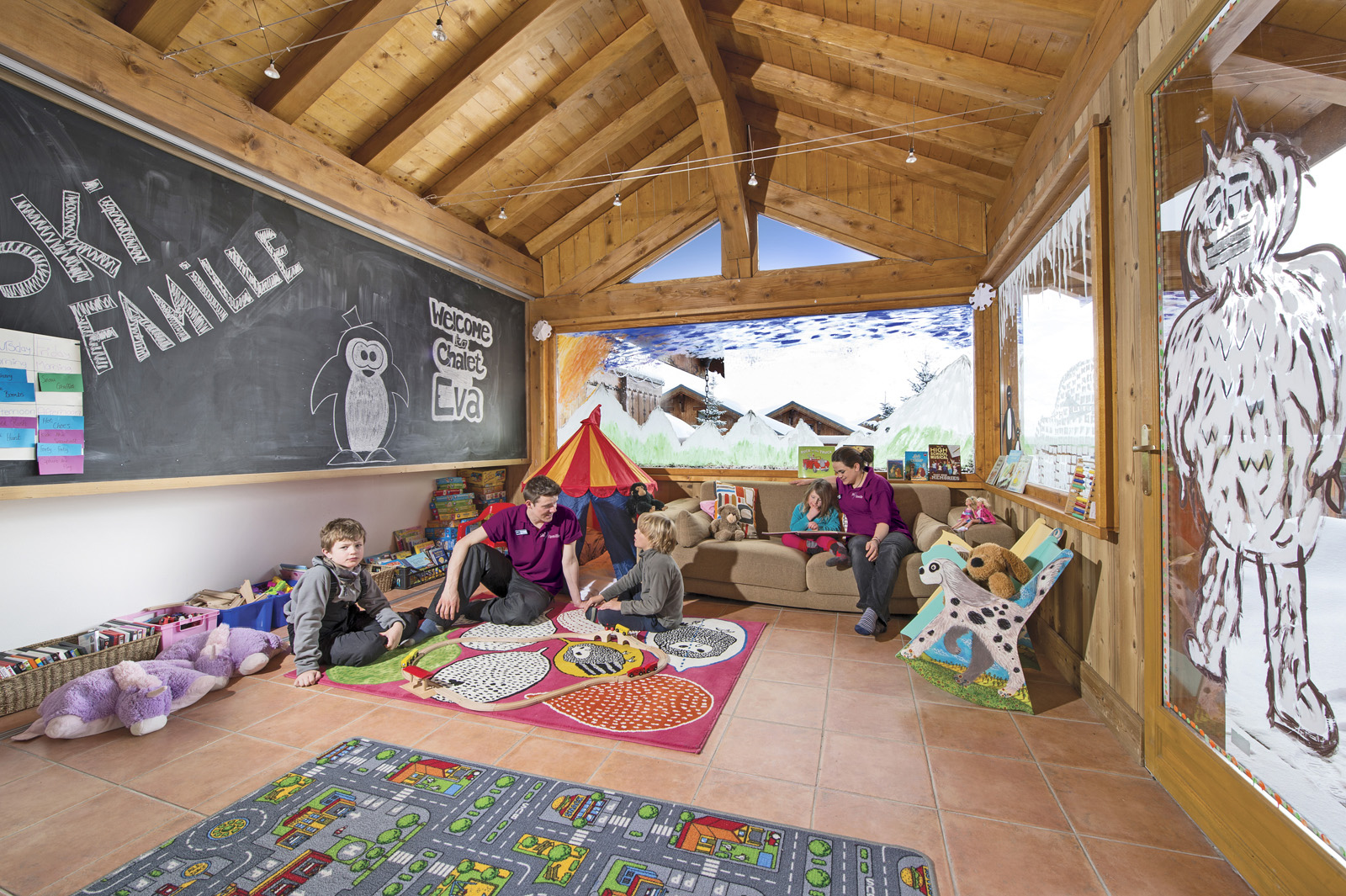 Chalet Eva Playroom