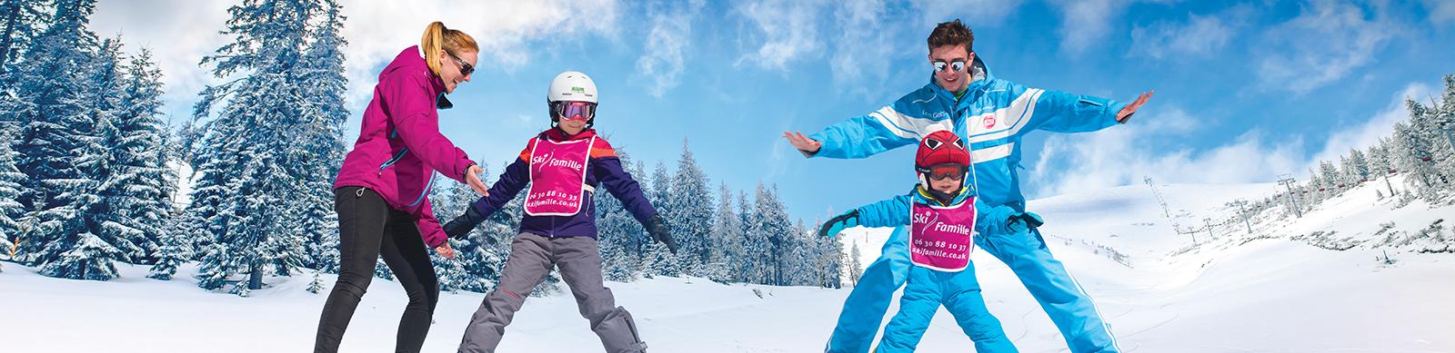 outdoor ski childcare