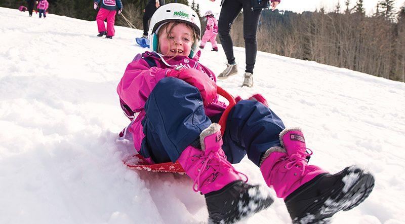 ski childcare outdoors