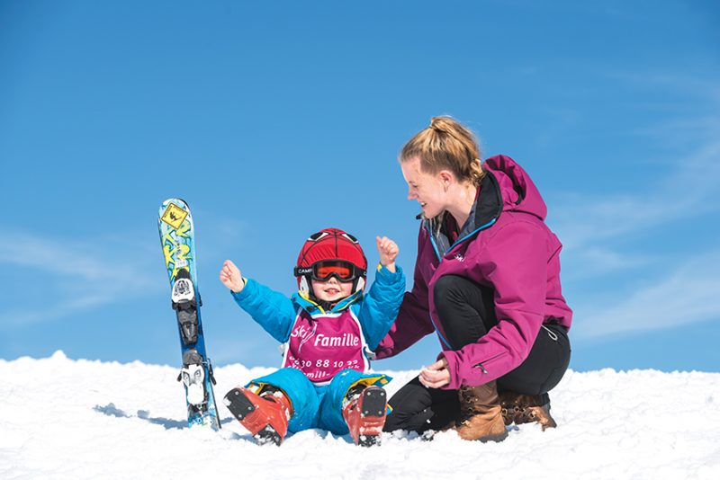 ski famille staff