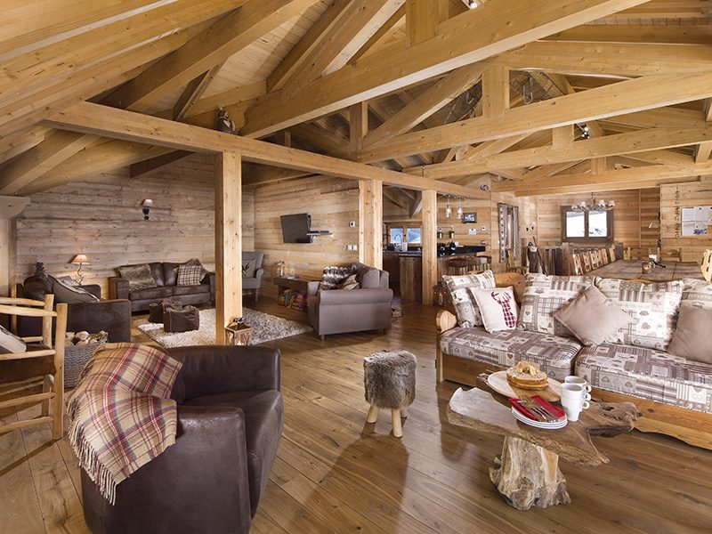 alpine chalet interior
