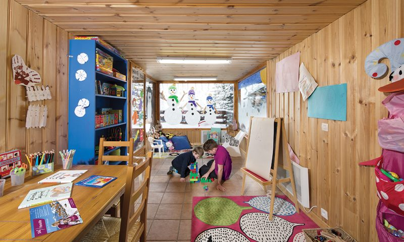 chalet childcare playroom
