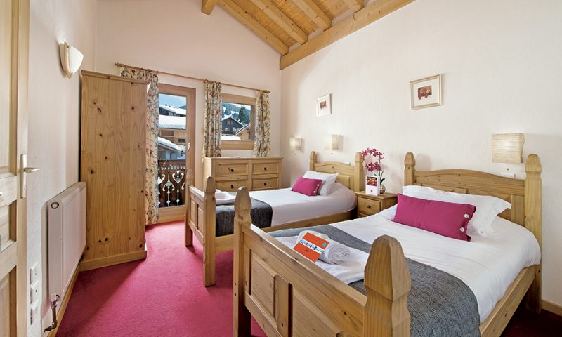 cosy chalet bedrooms
