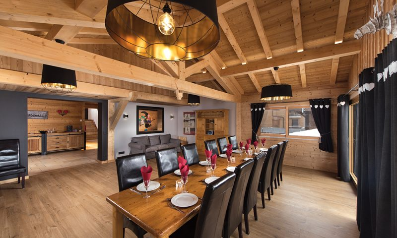 chalet dining room