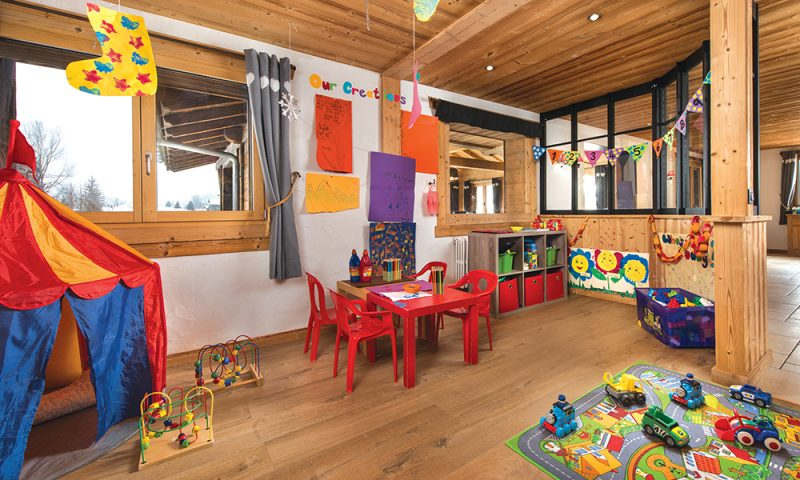 chalet playroom