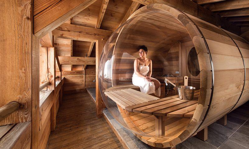 chalet mouflon sauna