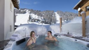 chalet hot tub