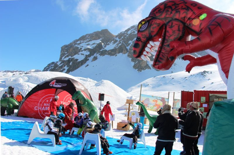 La Plagne fun day