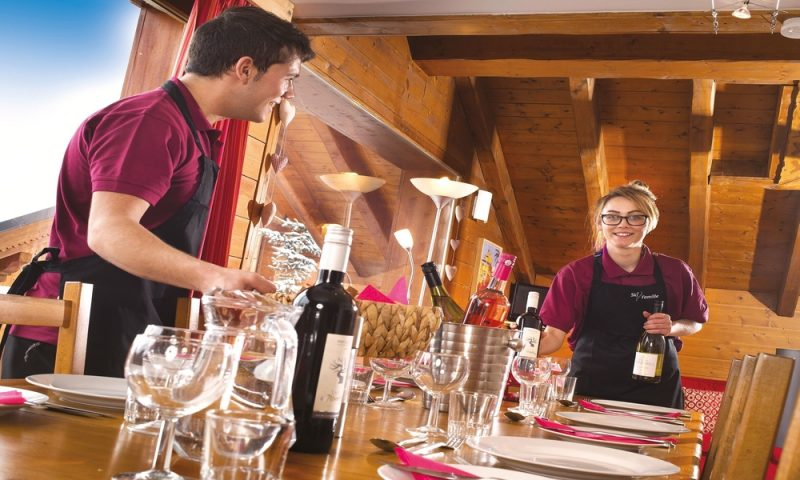 Ski Famille cuisine and service