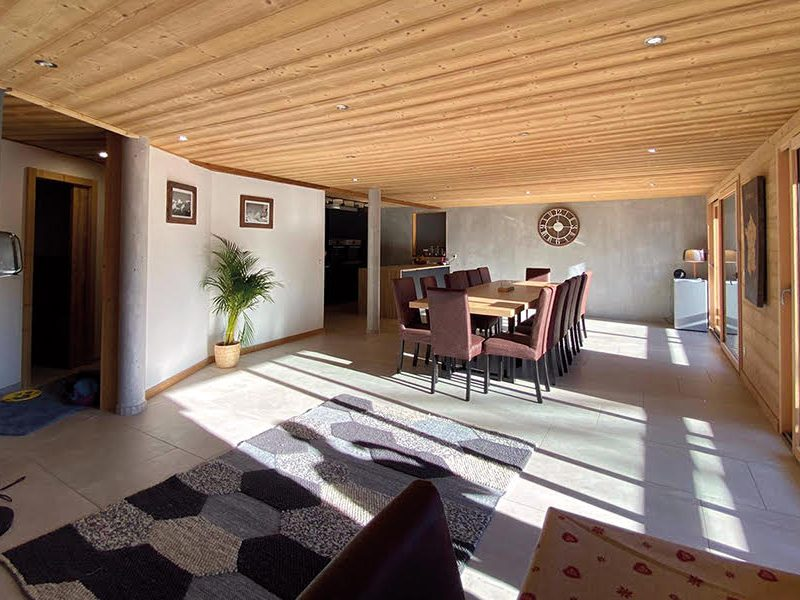 Chalet dining area