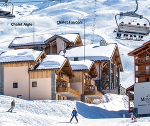 Chalet Faucon Aigle locations